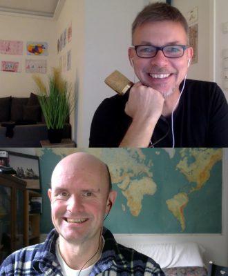 Sven und Mitch im Interview