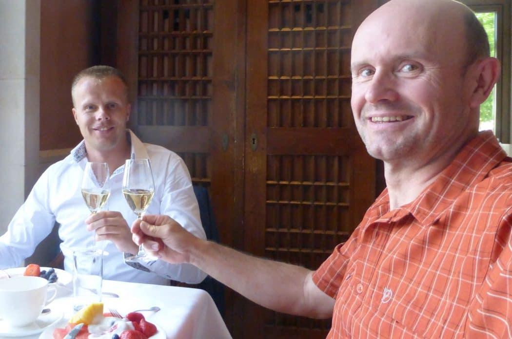 Gunnar Kessler und Mitch