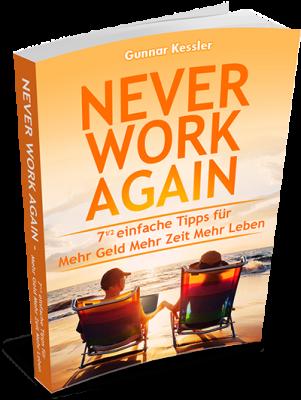 Buch Never work again - jetzt gratis herunterladen