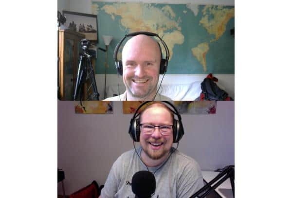Weltreisen dulden keinen Aufschub mit Martin Saenger und Michael Blömeke