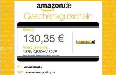 Amazon Associates Program Affiliate Gutschein