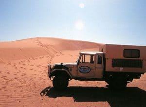 Marokko Toyota Landcruiser im Erg Chebbi 640