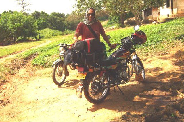 Motorrad taxi Liberia